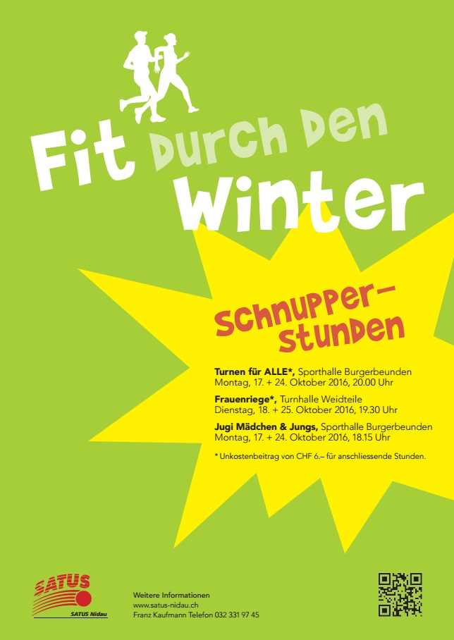 Fit durch den Winter Satus Nidau