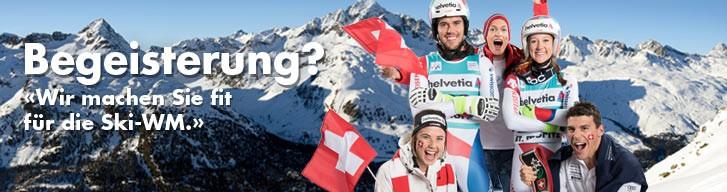 Wir machen Sie fit für die Ski-WM